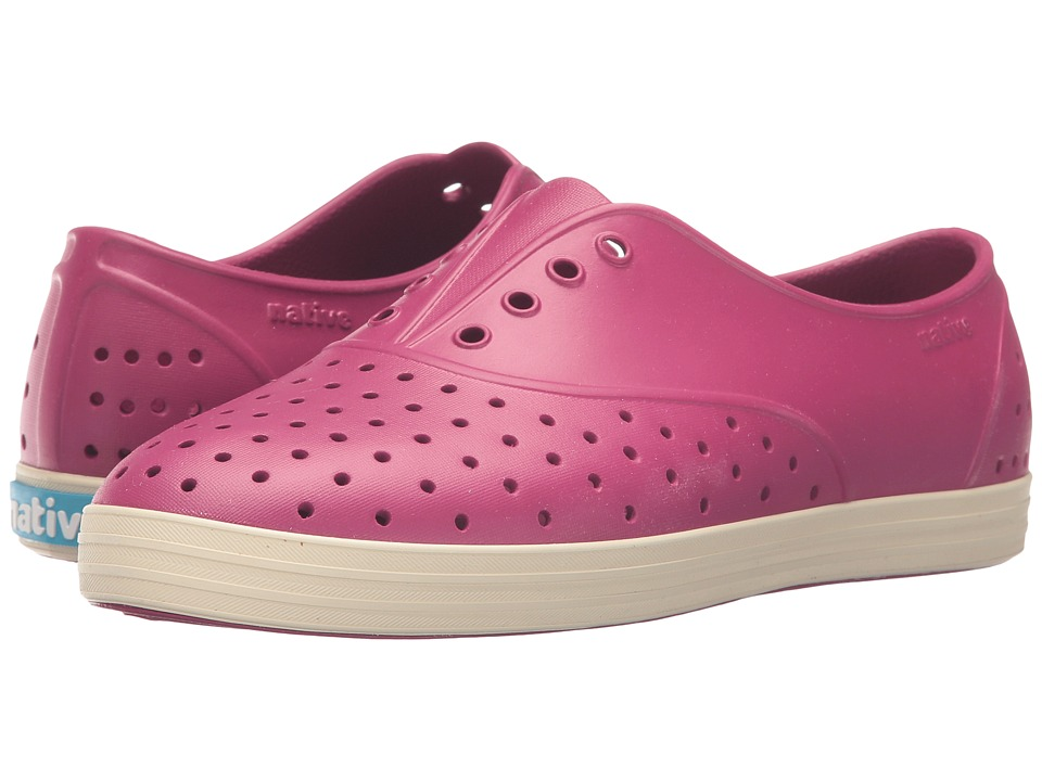 Native Shoes - Jericho (Raspberry Red/Bone White) Women's Shoes