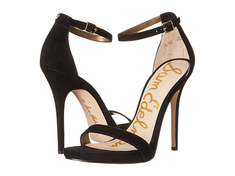Sam Edelman - Eleanor (Black Suede) High Heels