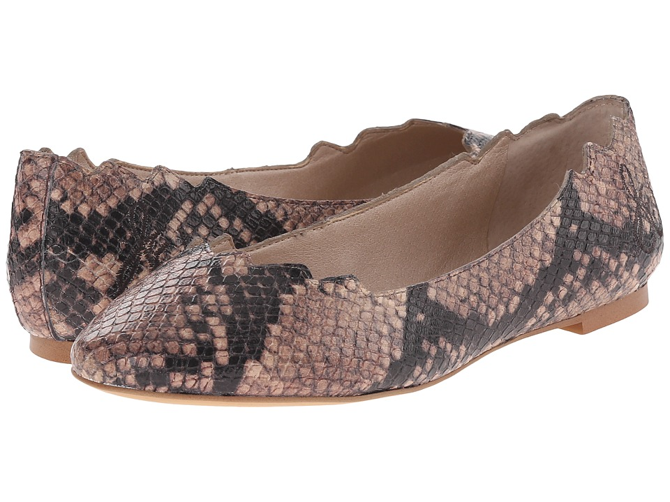 Sam Edelman - Augusta (Natural Shiny Python Print) Women