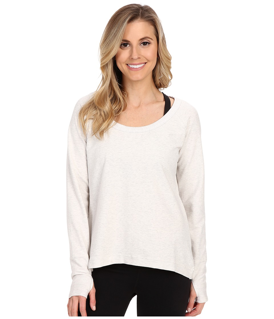 tasc Performance - Bywater High-Low Pullover (Ash Heather) Women's Long Sleeve Pullover