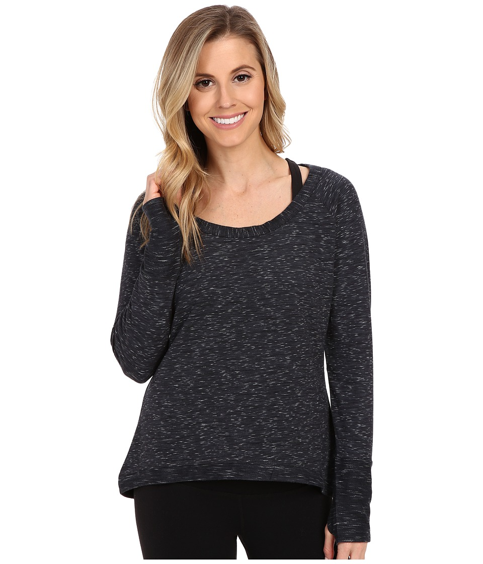 tasc Performance - Bywater High-Low Pullover (Granite Heather) Women's Long Sleeve Pullover