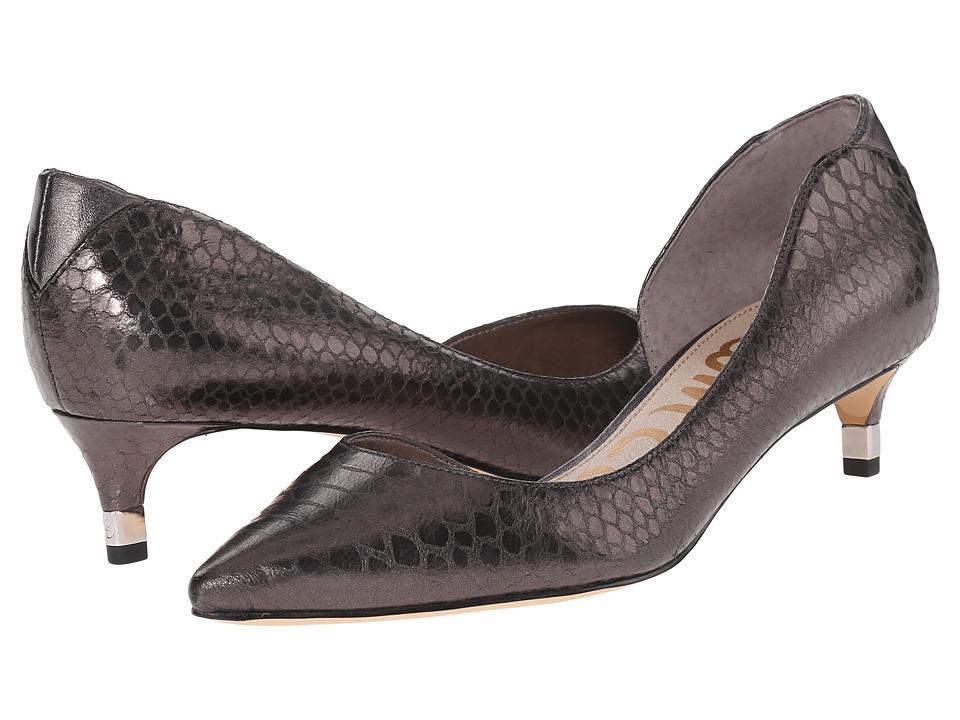 Sam Edelman - Linda (Sterling Snake Print) Women's 1-2 inch heel Shoes