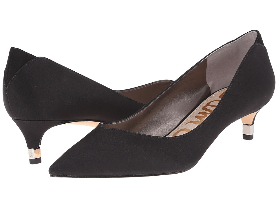Sam Edelman - Laura (Black Crepe) Women's Shoes