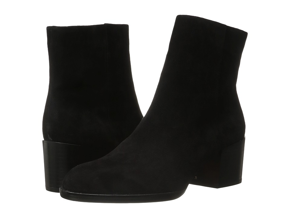 Sam Edelman - Joey (Black Suede) Women's Zip Boots