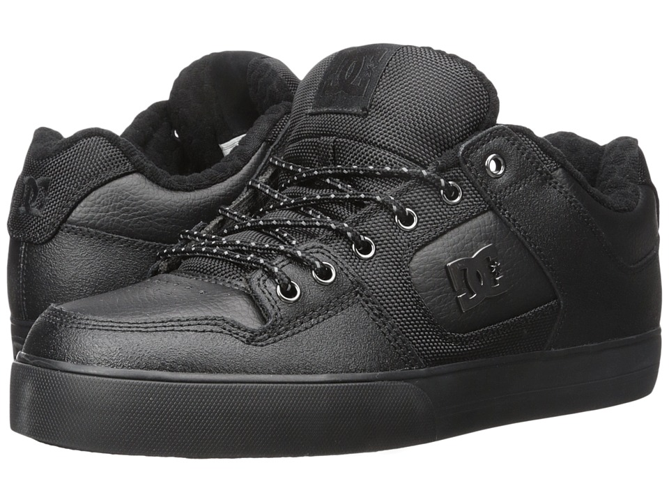 DC - Pure SE (Black 3) Men's Skate Shoes