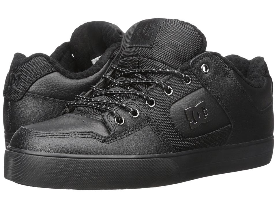 DC - Pure SE (Black 3) Men's Skate Shoes