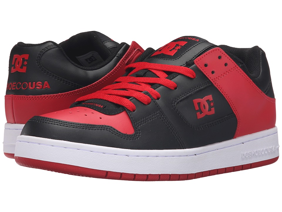 DC - Manteca (Black/Red) Men's Shoes