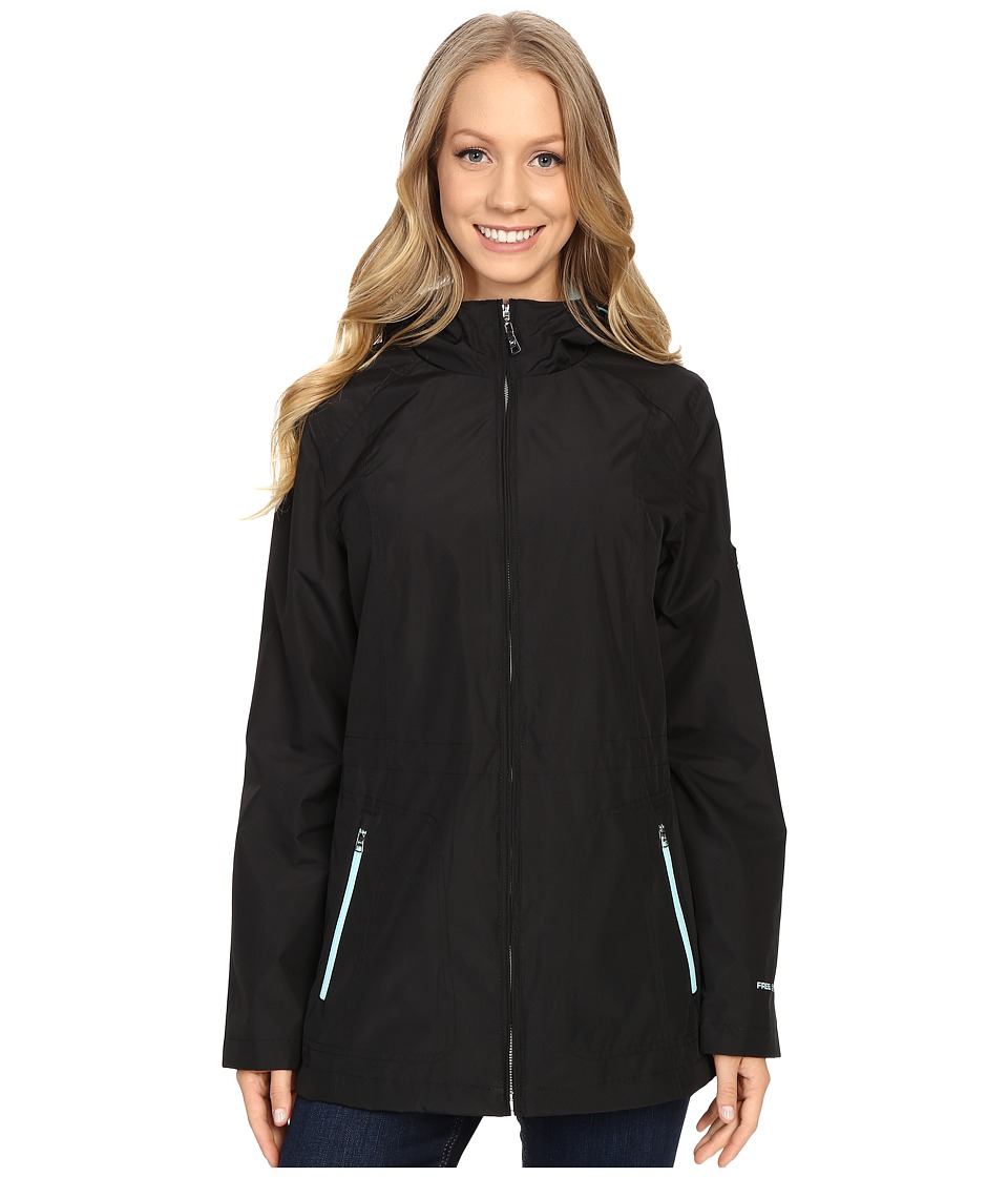 Free Country - Radiance Reversible Jacket (Black/Whisper Blue) Women's Coat