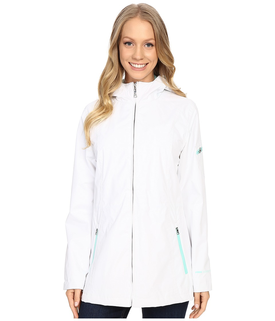 Free Country - Radiance Reversible Jacket (White/Icegreen) Women's Coat