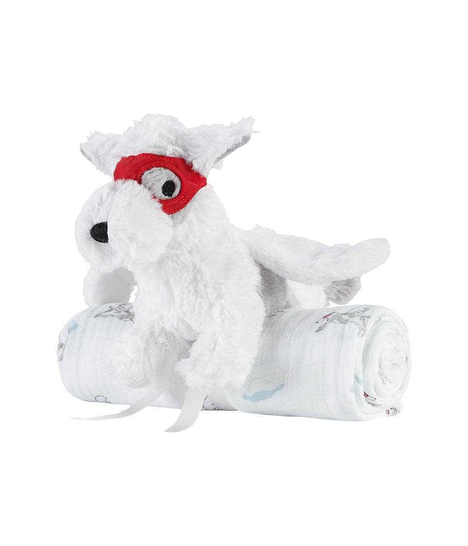 aden + anais - Plush Toy Classic Swaddle (Dog/Liam the Brave) Accessories Travel