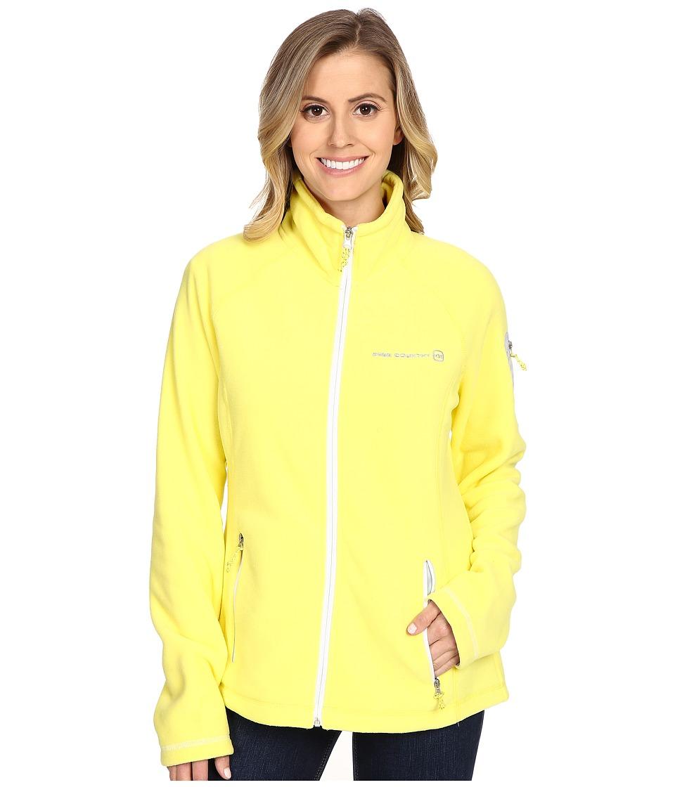 Free Country - Micro Fleece Jacket (Lemon Wing) Women