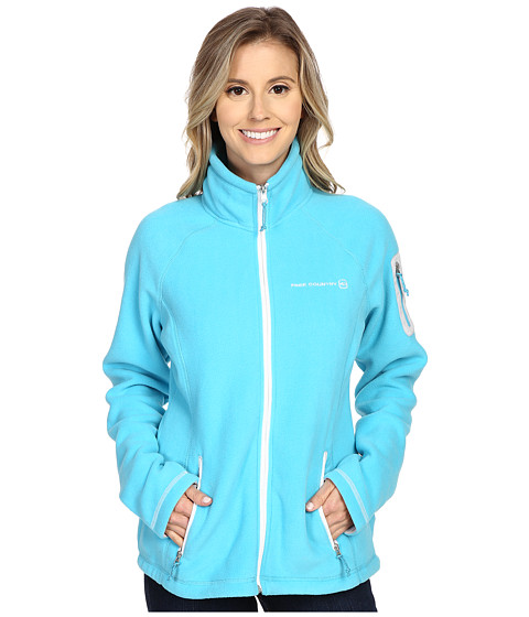 Free Country - Micro Fleece Jacket (Active Blue) Women