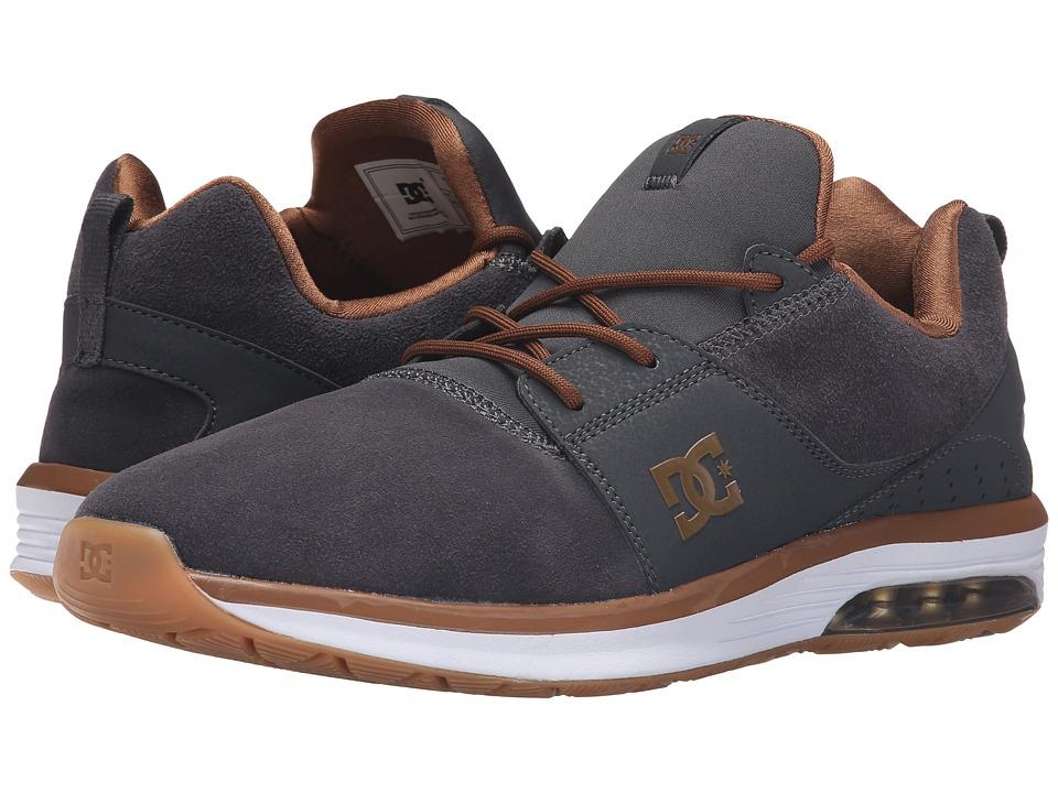 DC - Heathrow IA (Dark Shadow) Men's Skate Shoes