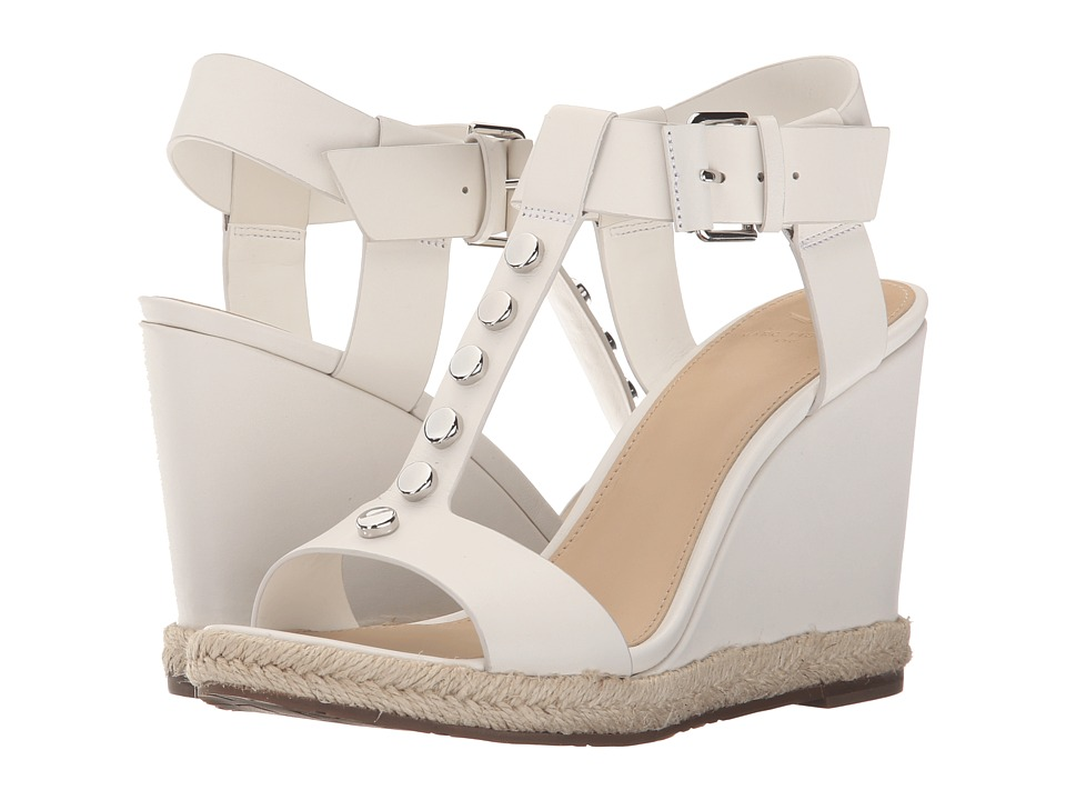 Marc Fisher LTD - Kellie (Chic Cream Leather) Women's Wedge Shoes