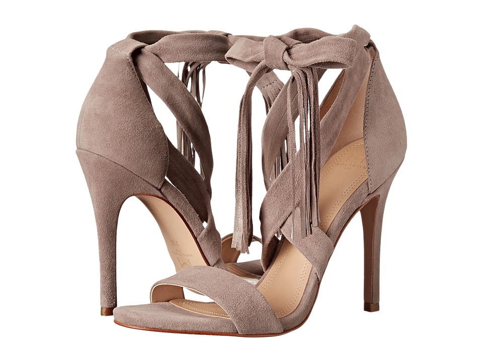 Marc Fisher LTD Lauren (Light Khaki Suede) High Heels