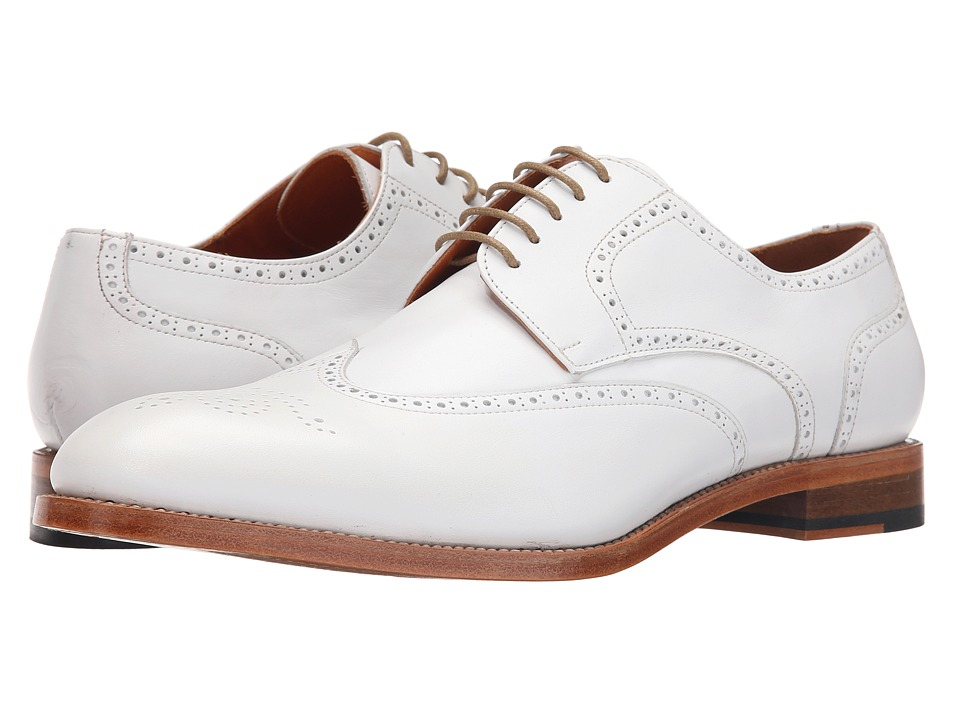 Crosby Square - Holloway (White) Men's Lace up casual Shoes