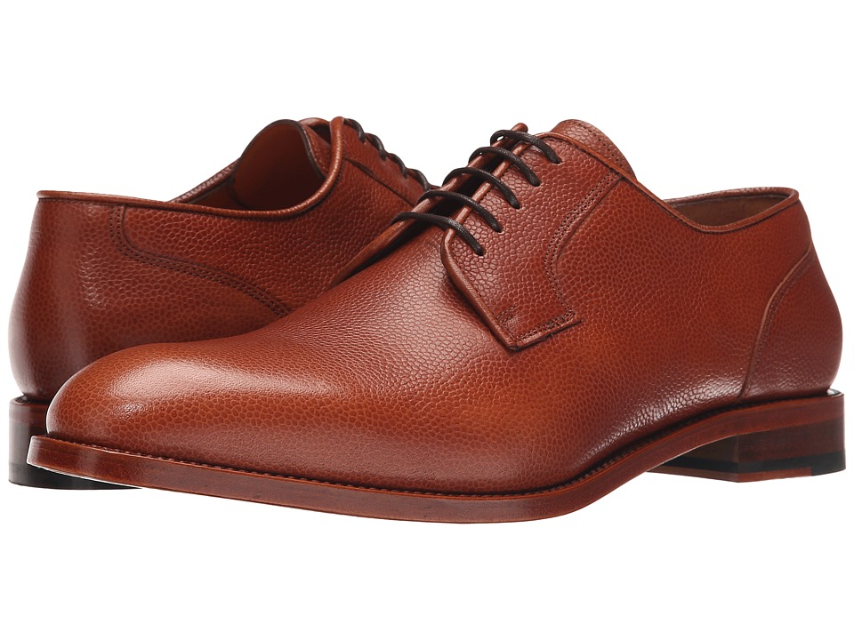 Crosby Square - Imperial (Whiskey Pebble Grain) Men's Lace up casual Shoes
