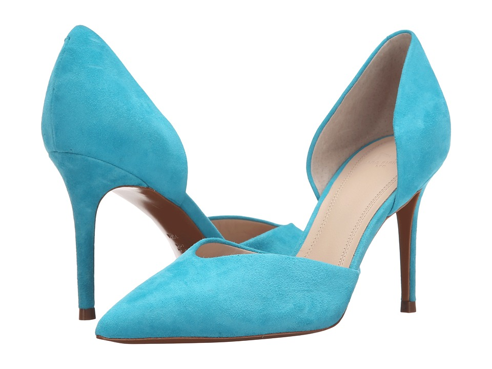 Marc Fisher LTD - Tammy (Turquoise Suede) High Heels