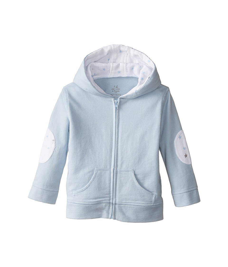 aden + anais - Hoodie (Infant) (Night Sky Blue) Kid's Sweatshirt