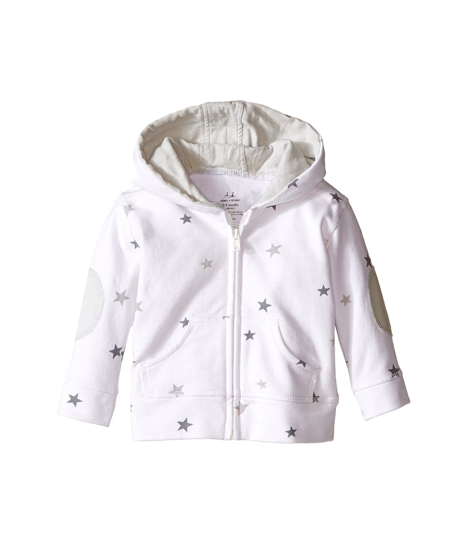 aden + anais - Hoodie (Infant) (Twinkle Tiny Star) Kid's Sweatshirt
