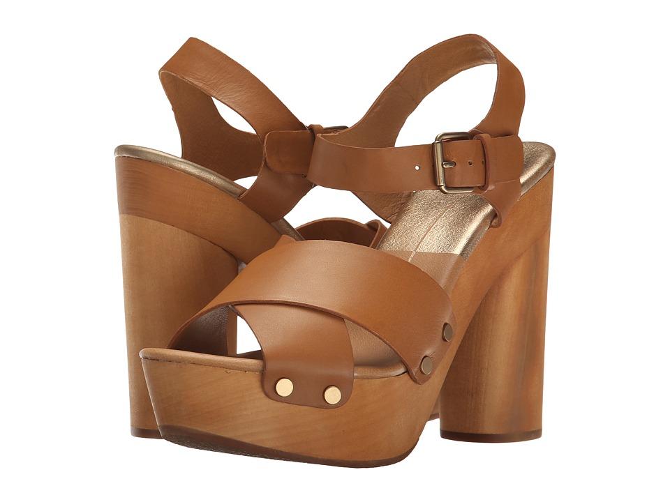 Dolce Vita - Tildah (Caramel Leather) Women's Shoes
