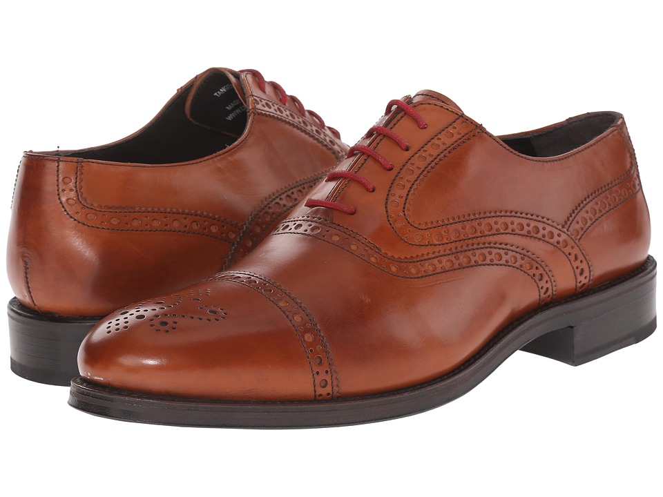 Crosby Square - Tanger (Cognac) Men's Lace up casual Shoes