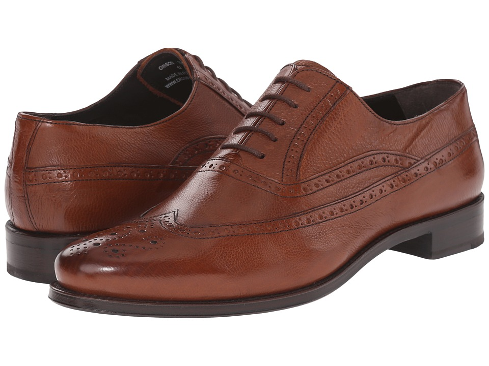 Crosby Square - Gibson (Chestnut) Men's Slip on Shoes