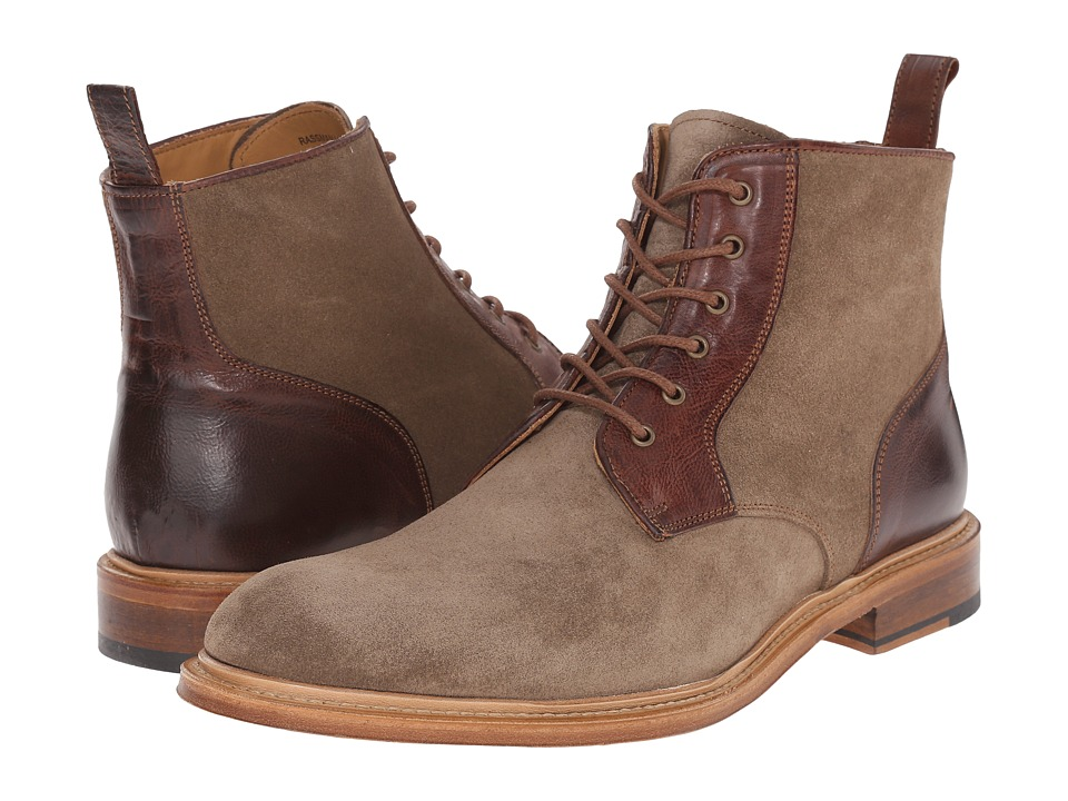 Crosby Square - Rassman (Light Brown Suede) Men's Lace-up Boots