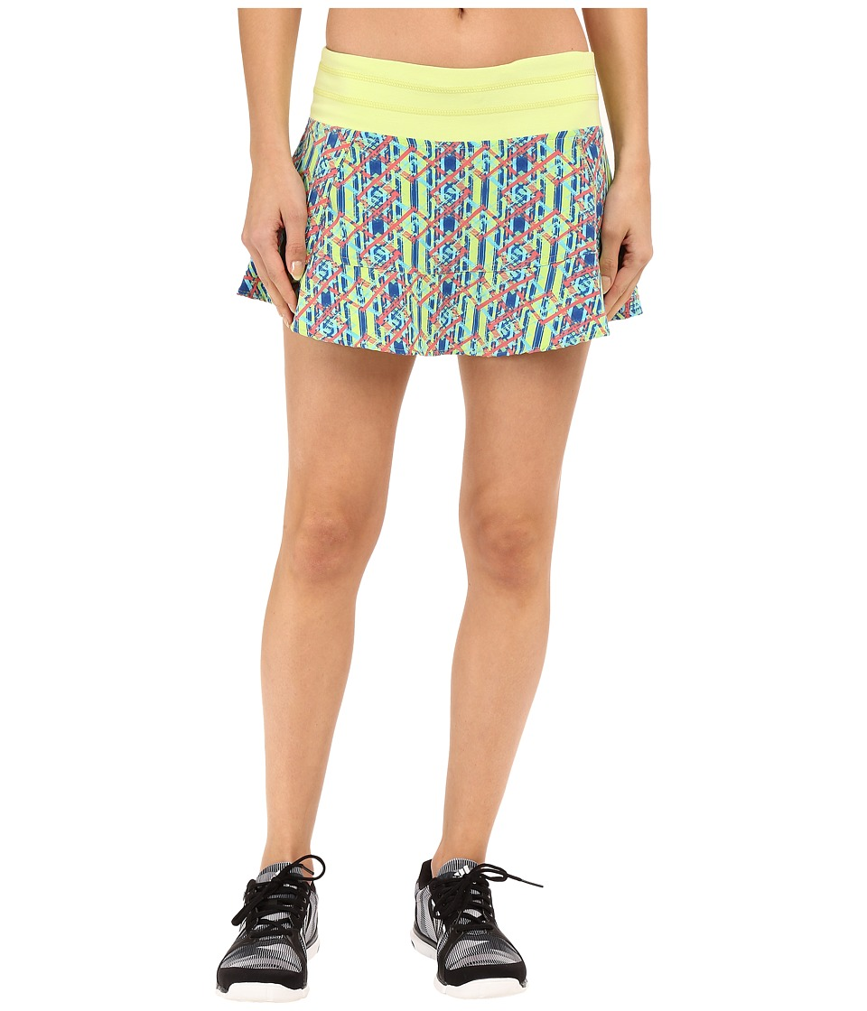 tasc Performance - Rhythm Skirt Print (Helix Plaid) Women's Skort
