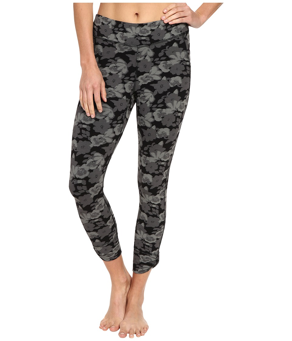 tasc Performance - Bayou Booty 7/8 Print Tights (Midnight Garden) Women's Casual Pants