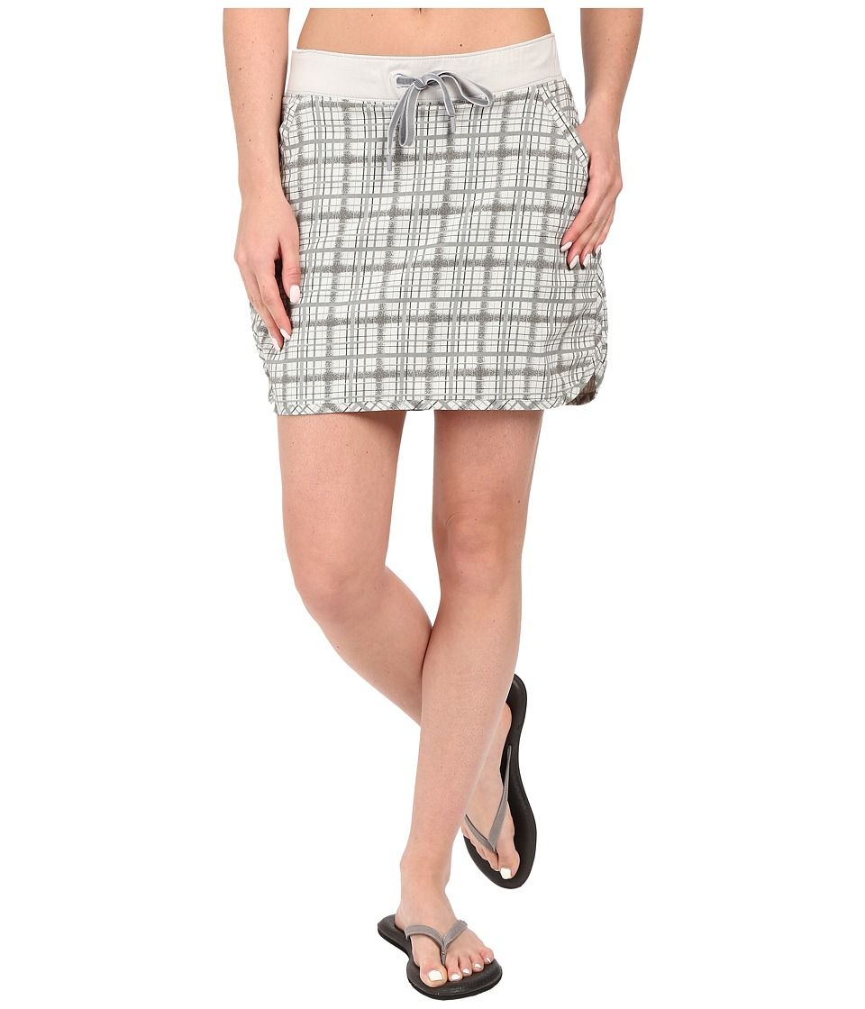 tasc Performance - Hit the Trail Skirt (Graystone Plaid) Women's Skort