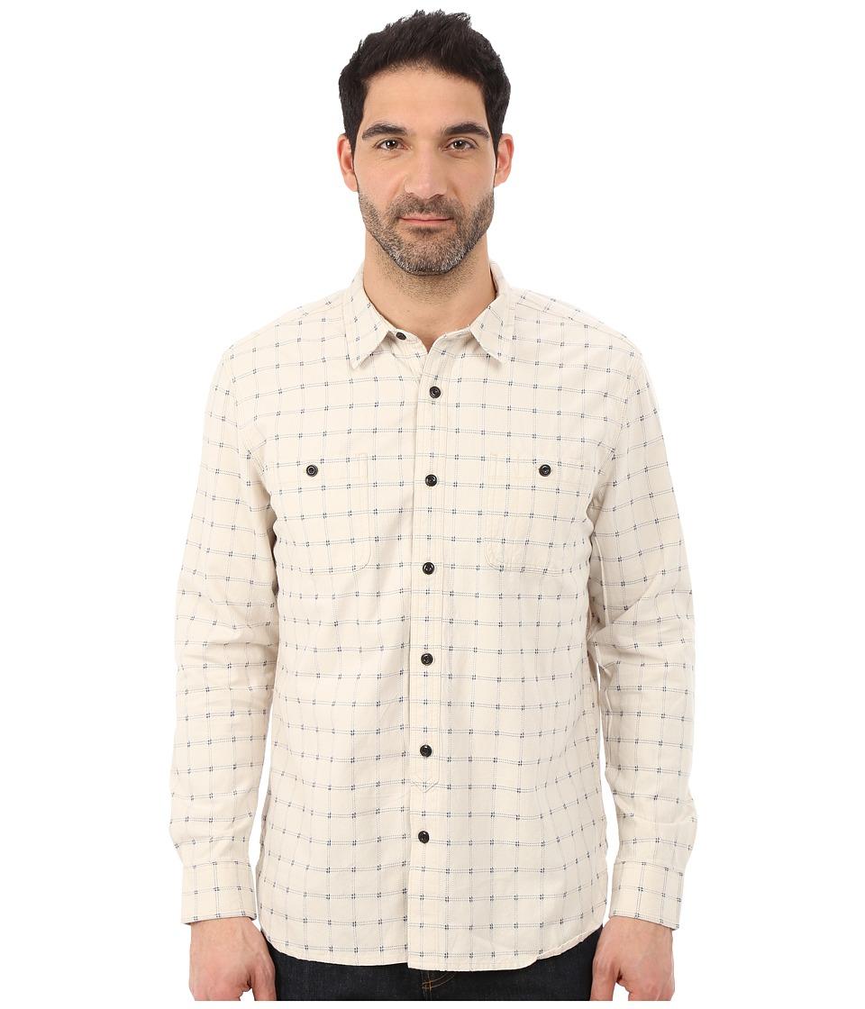 Lucky Brand - Dobby Mason Workshirt (Natural) Men's Clothing