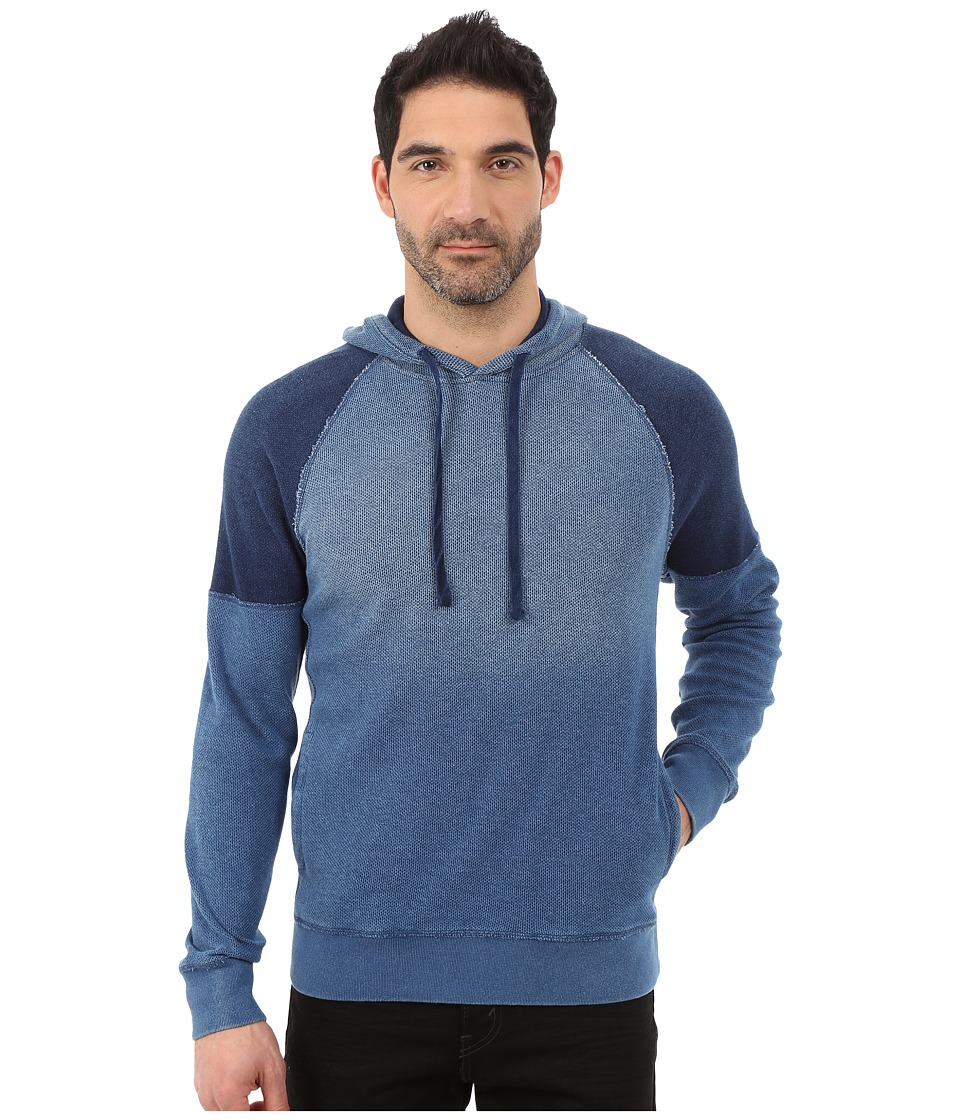 Lucky Brand - Grey Label Hoodie (Indigo) Men's Sweatshirt