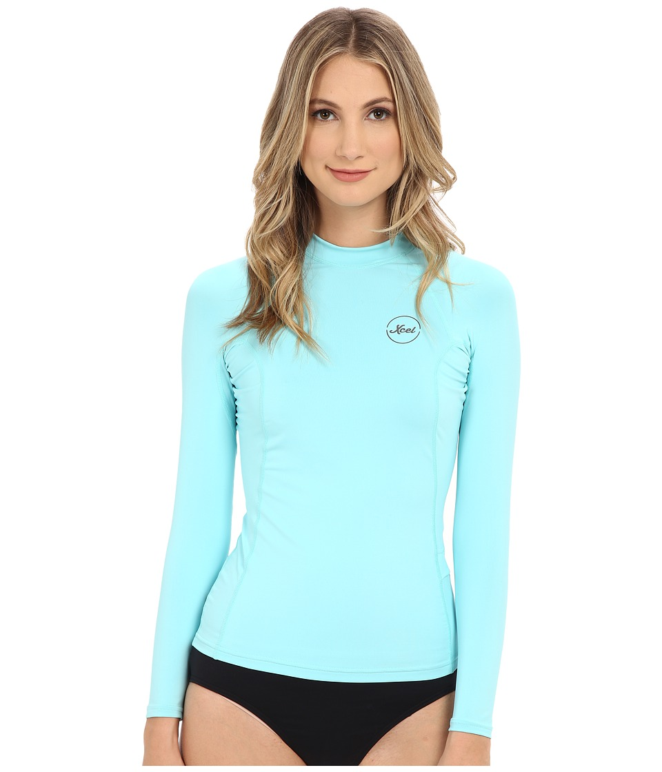 XCEL Wetsuits - Paradise UV Long Sleeve with Key Pocket (Honey Dew) Women's Clothing