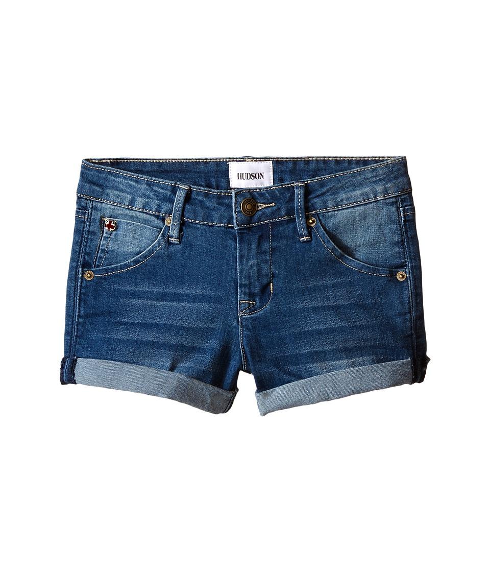 Hudson Kids - 2 1/2 Roll Shorts in Hippie Sky (Toddler/Little Kids) (Hippie Sky) Girl's Shorts