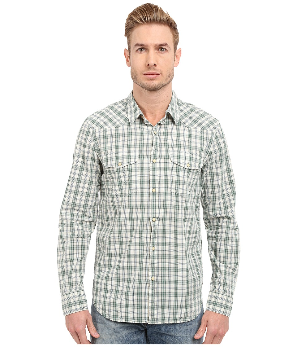 Lucky Brand - Santa Fe Western (Green/Natural) Men's Clothing