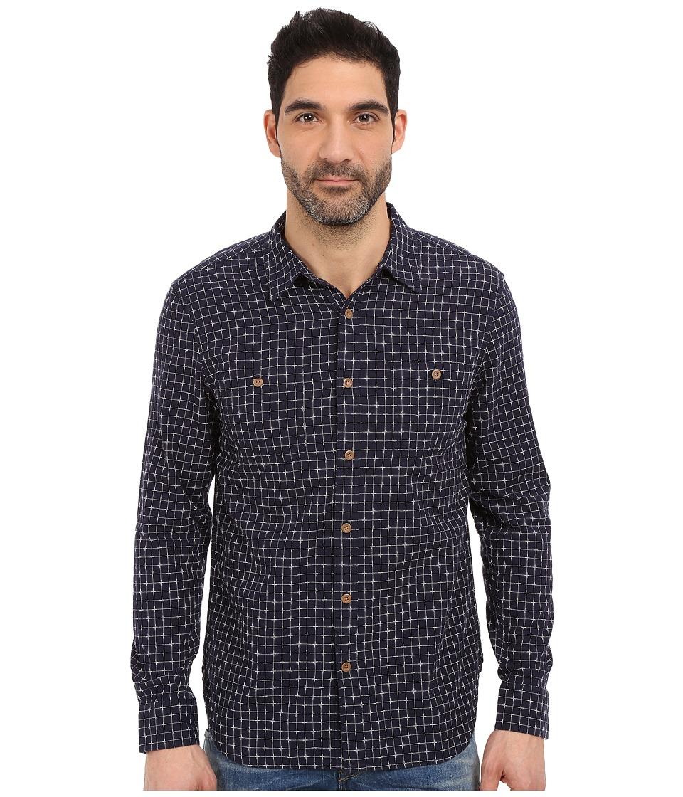 Lucky Brand - Mason Work Wear (Navy/White) Men's Clothing