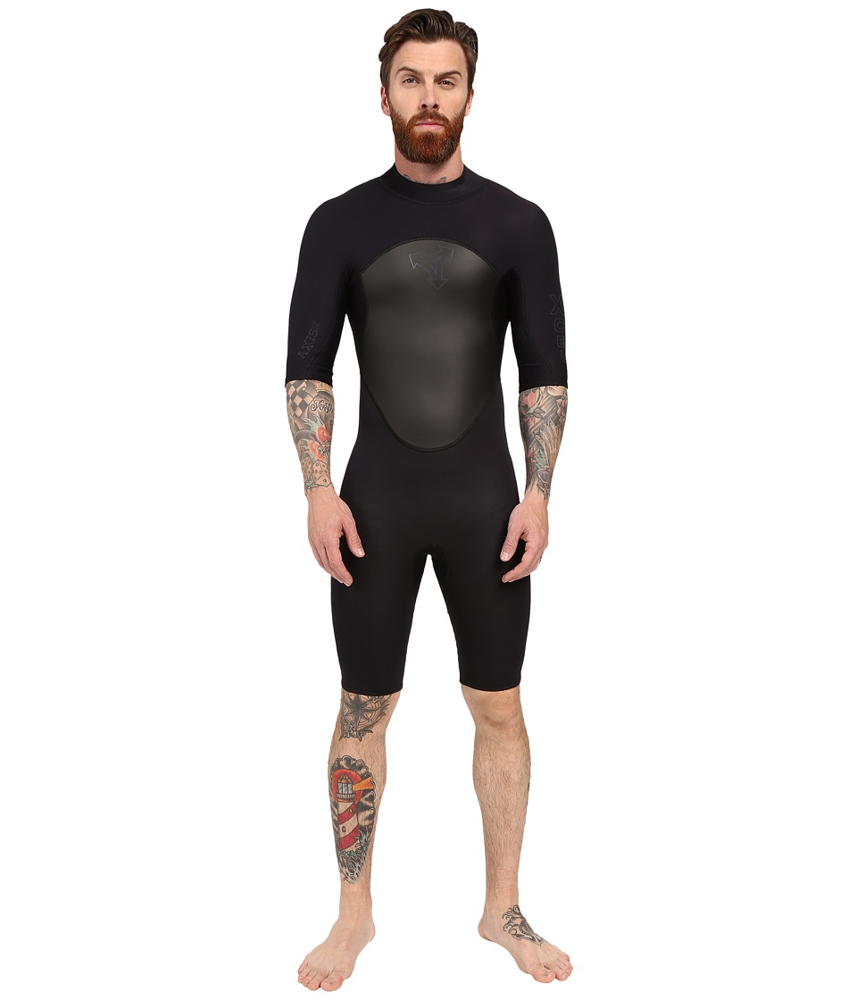XCEL Wetsuits - Axis OS 2mm Springsuit (Black) Men's Wetsuits One Piece