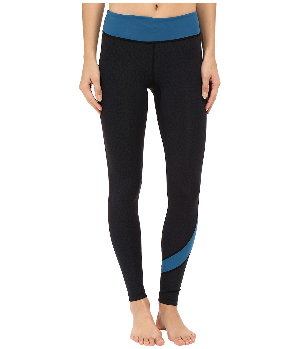 XCEL Wetsuits - Kaena 8oz UV Sport Pants (Black/Denim Leopard) Women's Casual Pants