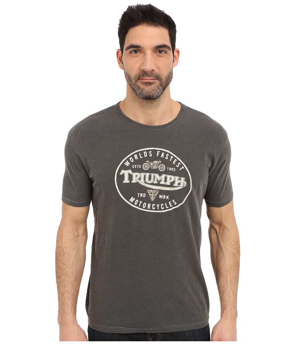 Lucky Brand - Triumph Graphic Tee (Black Mountain) Men's T Shirt