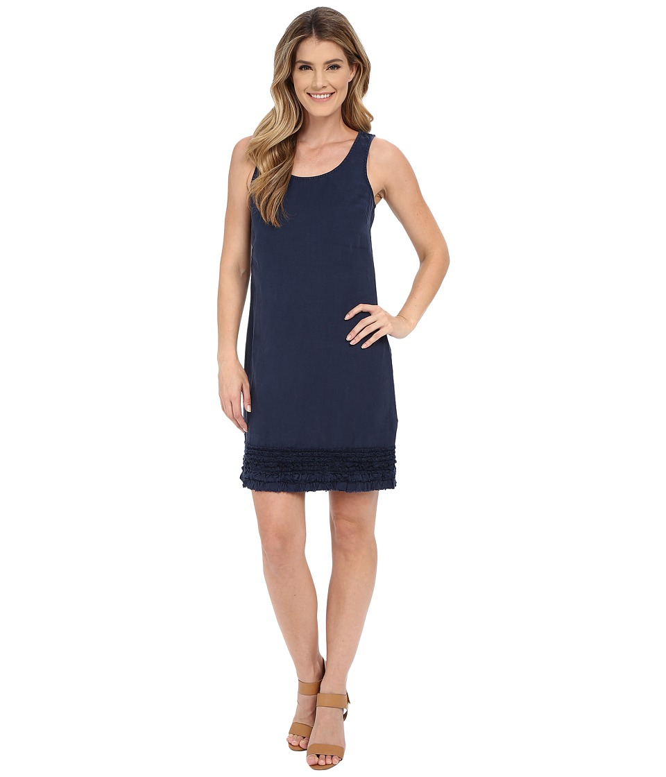 Tommy Bahama - Two Palms Ruffle Dress (Ocean Deep) Women's Dress