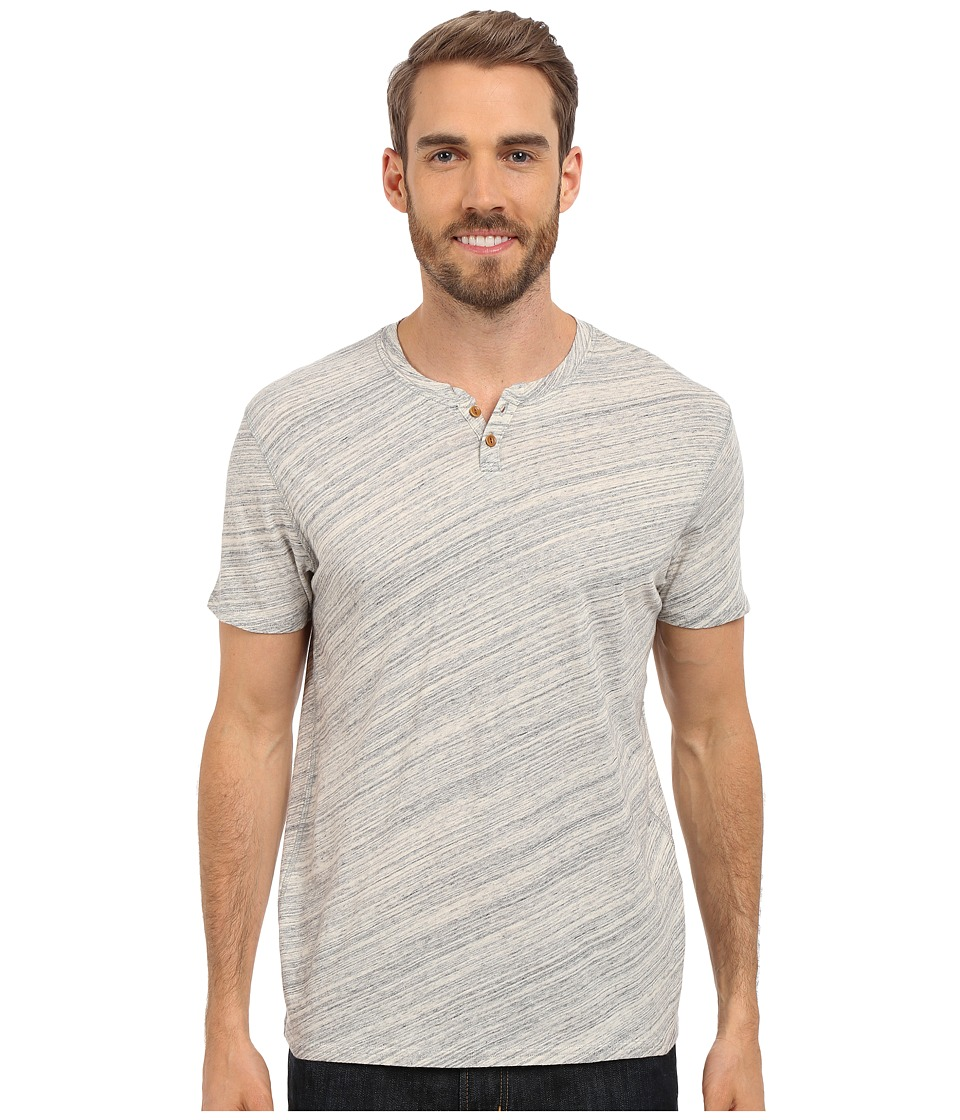 Lucky Brand - Notch Tee (Heather Grey) Men's T Shirt