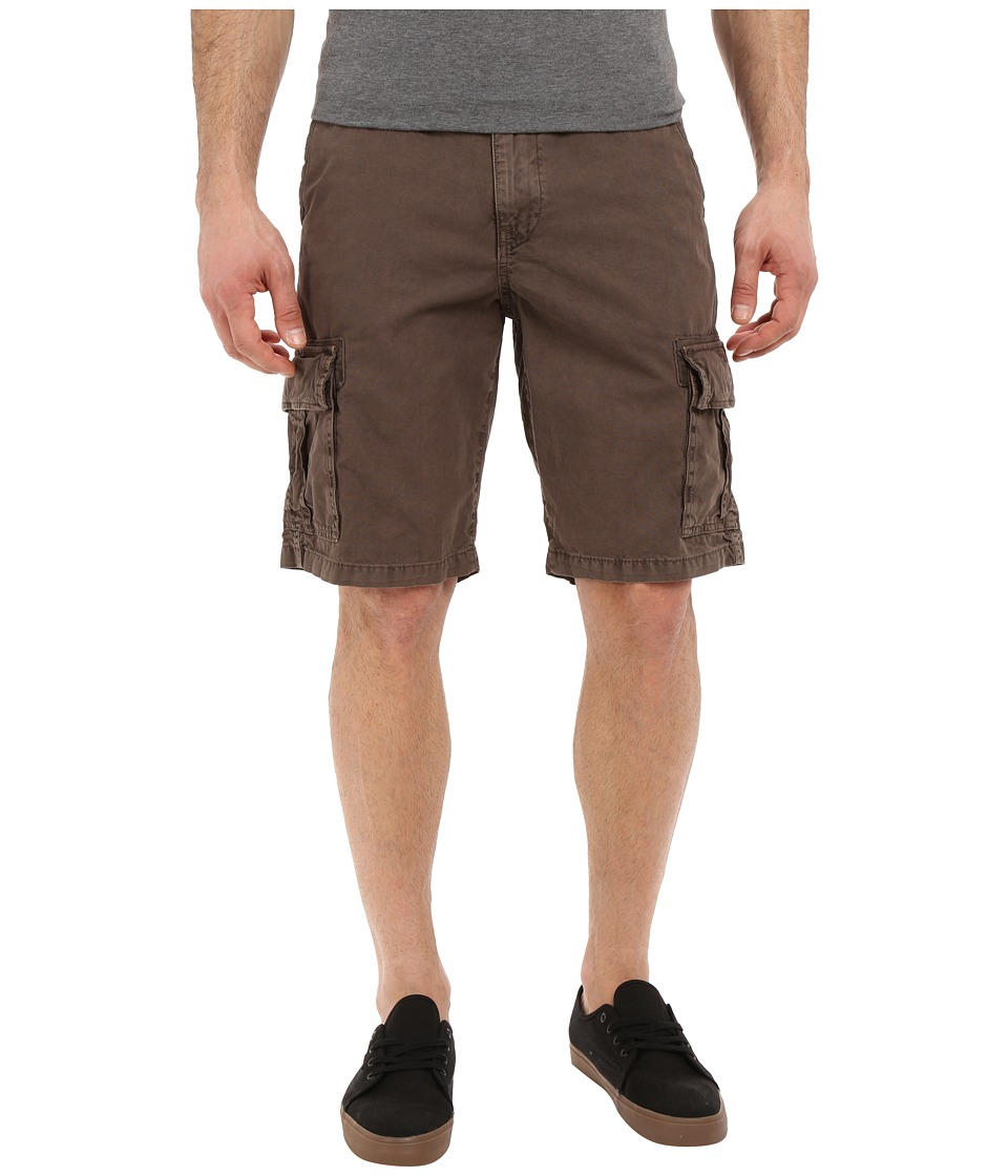 Lucky Brand - Utility Cargo Shorts (Slate Black) Men's Shorts