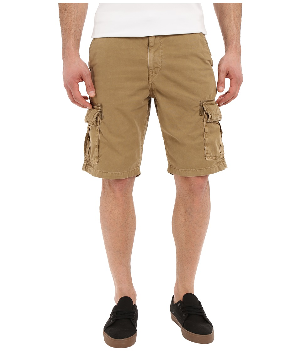 Lucky Brand - Utility Cargo Shorts (Antique Bronze) Men's Shorts