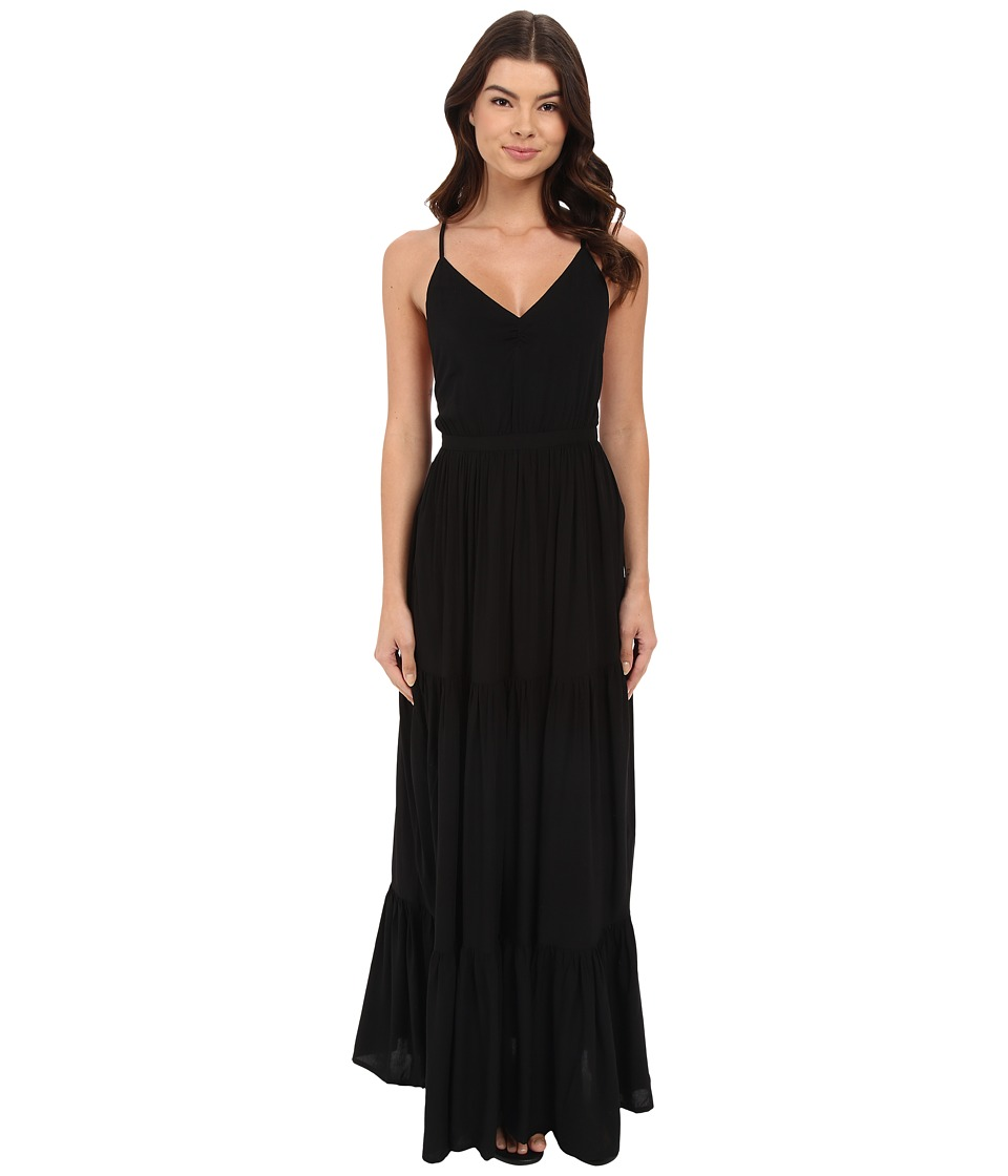 6 Shore Road by Pooja Siron Maxi Dress Swim Cover-Up (Black Rock) Women