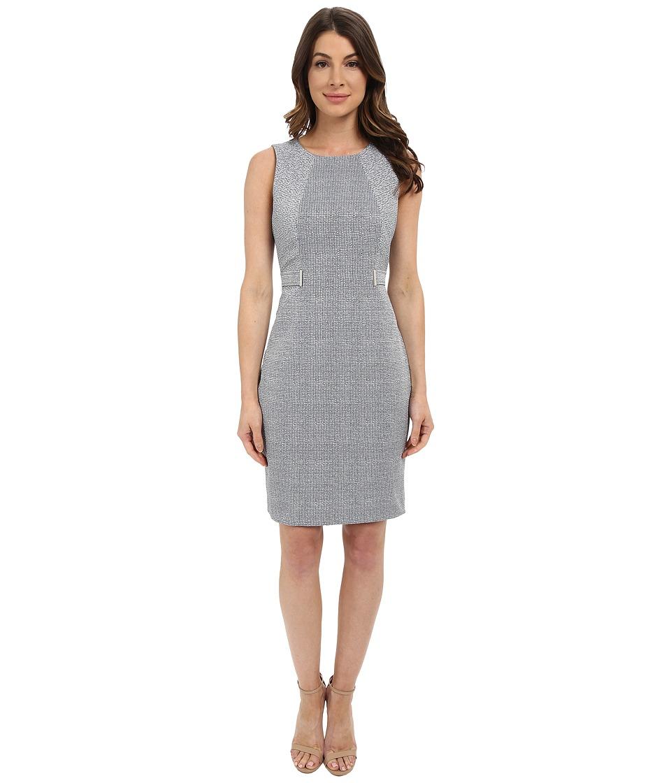 Calvin Klein - Sleeveless Dress w/ Side Blocking (Twilight) Women's Dress
