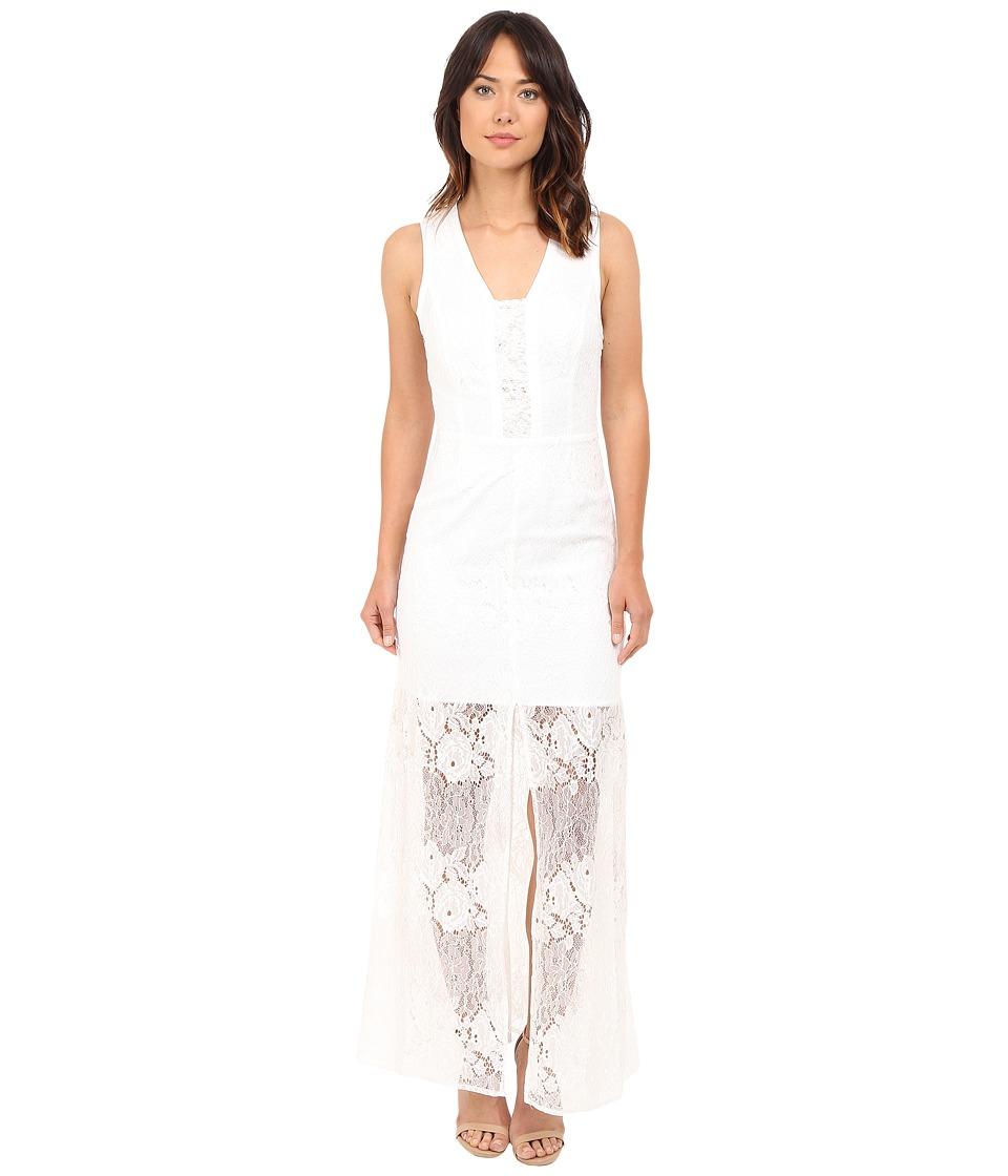 Brigitte Bailey - Lily Sleeveless Lace Maxi Dress (Ivory) Women's Dress