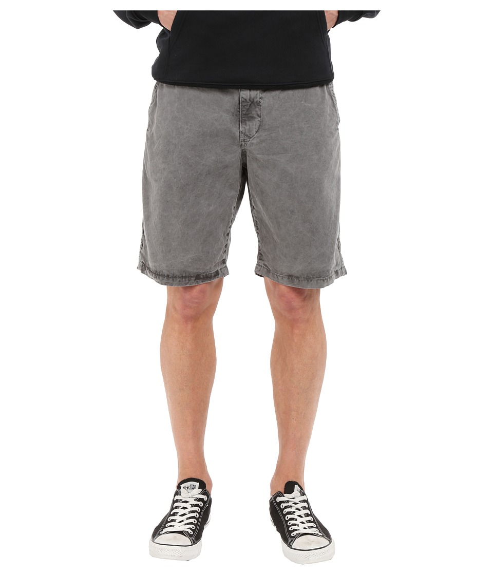 Lucky Brand - Utility Plain Front Shorts (Charcoal Grey) Men