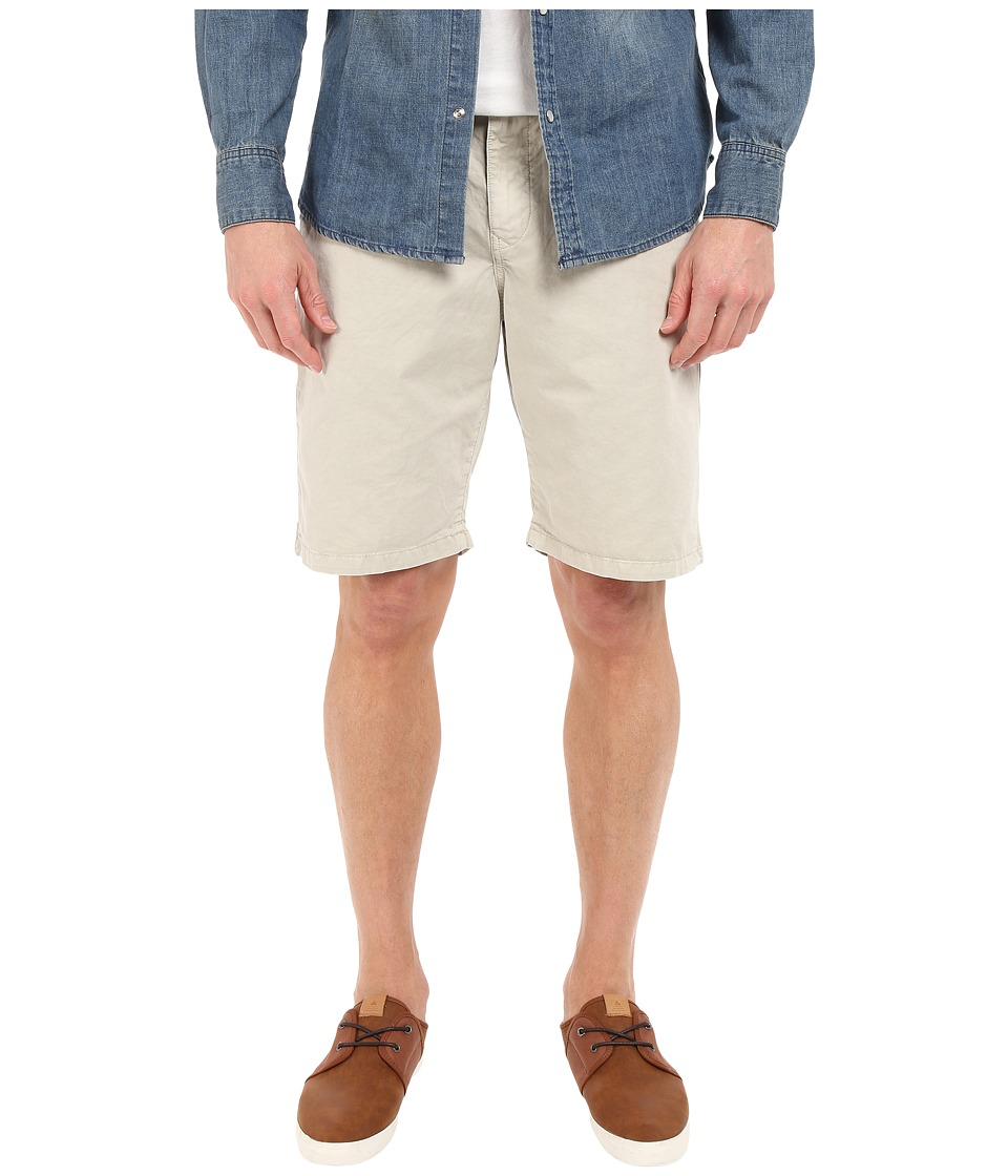Lucky Brand - Utility Plain Front Shorts (Silver Birch) Men's Shorts