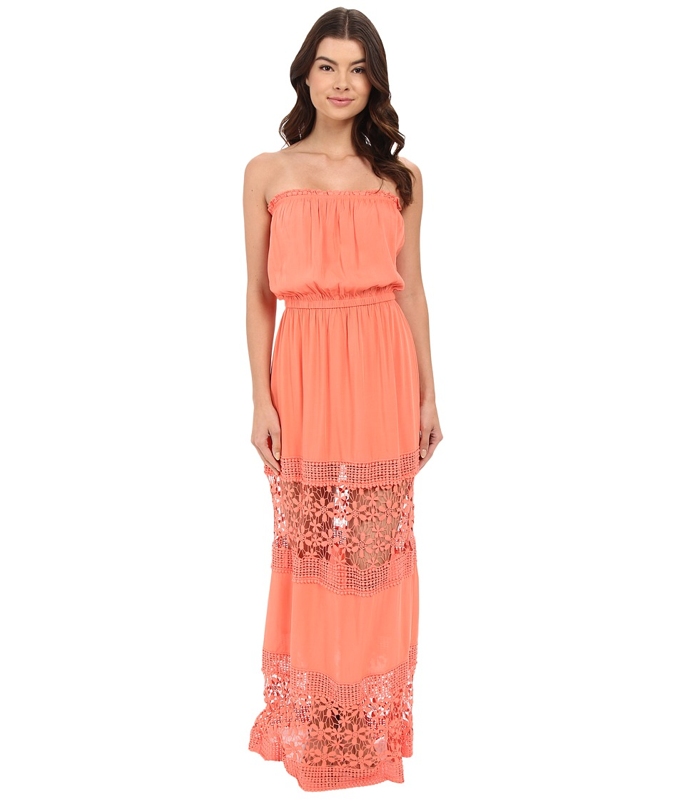 6 Shore Road by Pooja - Charlotte Maxi Dress Cover-Up (Watermelon) Women's Swimwear